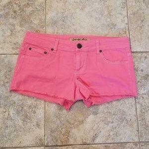 Celebrity Pink Like New Fushsia Rose Short Shorts